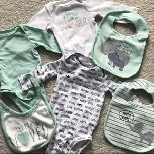 Assorted Onesies and Bibs